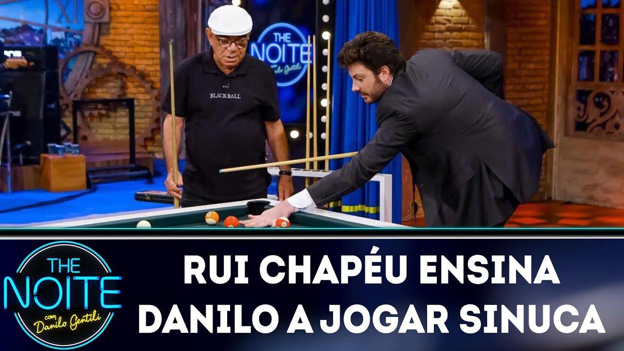 Rui Chapéu ensina Danilo a jogar sinuca | The Noite (26/03/19)