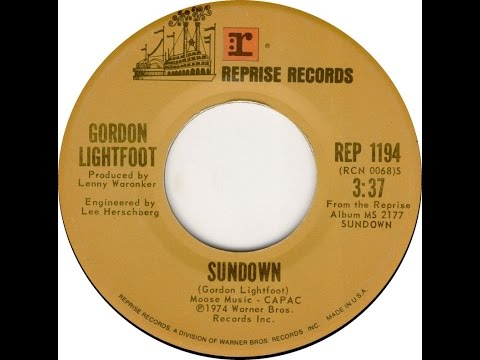 Sundown, Gordon Lightfoot Cover