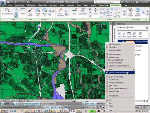 Flood Analysis with AutoCAD Map 3D software   YouTube Flood Analysis with AutoCAD Map 3D software