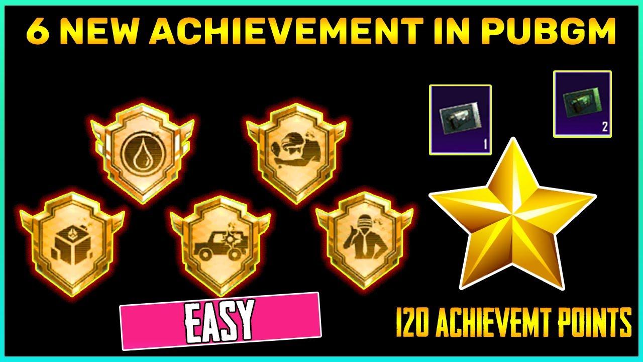 Download 6 New Achievement In Pubg Mobile    Get 110 Achievement Points    Explained (Hindi)