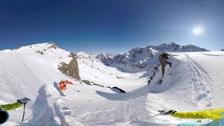 GoPro VR: Skiing in Portillo, Chile with Chris Davenport and Julia Mancuso thumbnail