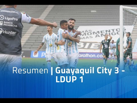 Guayaquil City LDU Portoviejo Goals And Highlights
