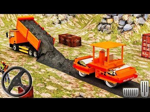 Bridge Builder River RoadWorks - 3D Construction Simulator - Android GamePlay