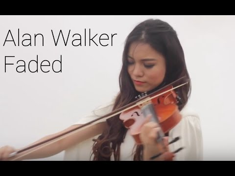 Alan Walker  - FADED ( Violin Cover by Yustin Arlette)