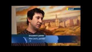 Artist Alex Levin captures Jewish life and faith, JN1