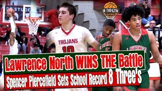 Lawrence North Won The Battle But Center Grove Spencer Piercefield Sets School Record 8 Three