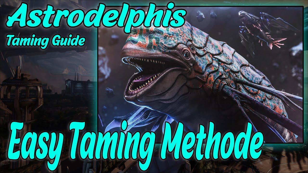 Easy Taming Methode Astrodelphis Guide | Ganz Leicht Solo Tamebar mit der Variante | Genesis 2 Guide
