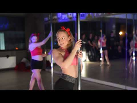 RAI studio pole dance fitness event for Restored Lithuania 100