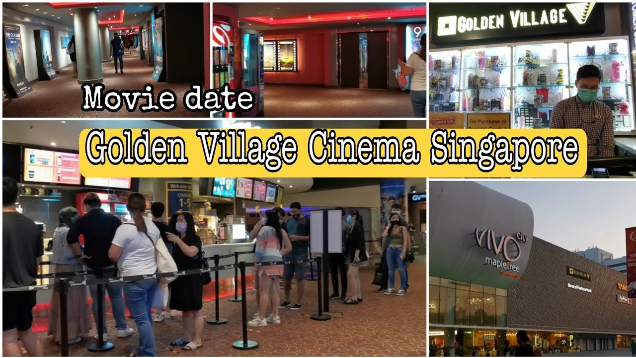 Golden Village Cinema Singapore | Vivocity Shopping mall #goldenvillagecinemasingapore