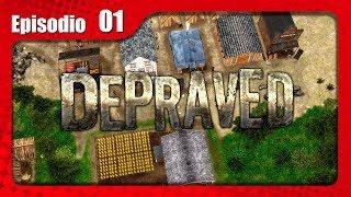 Depraved Gameplay Español - Ep1 - NUEVO JUEGO DE CONSTRUCCIÓN DE CIUDADES