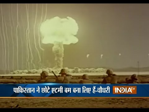 Pakistan Accept of Using Smaller Nuclear Weapons against India - India TV