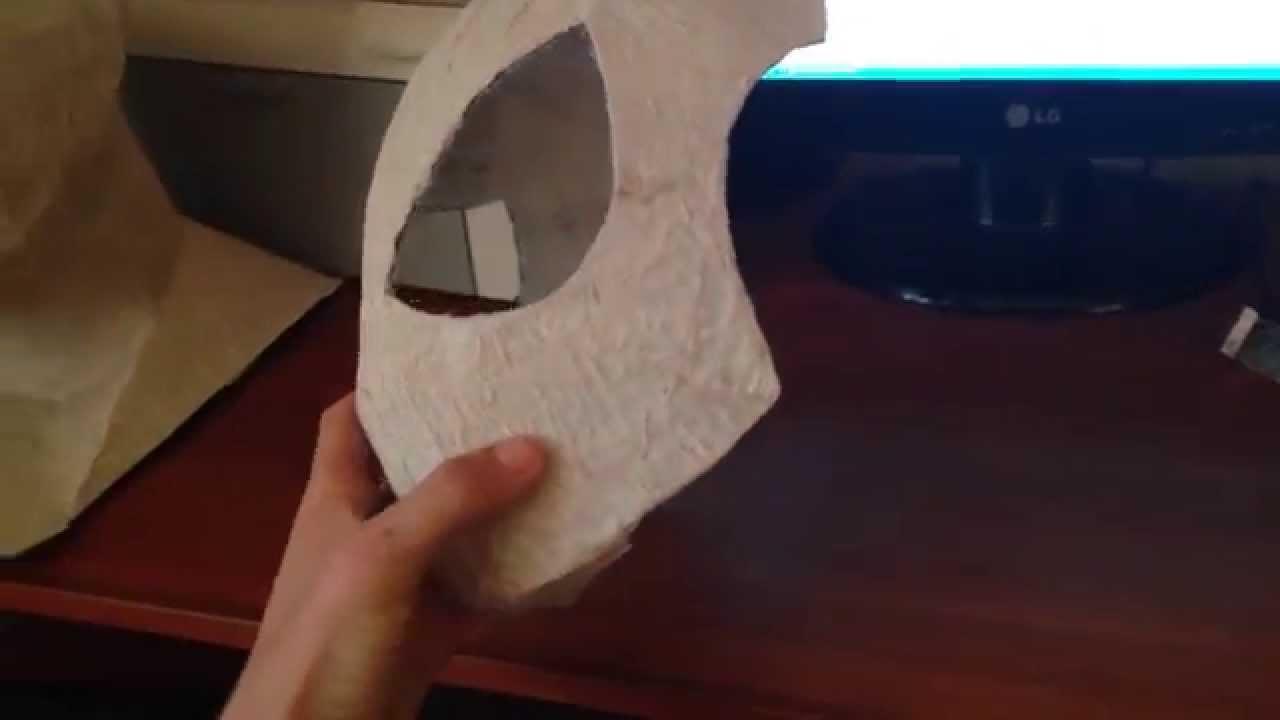 Маска Человека паука своими руками: из ткани, из бумаги 29