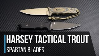 Spartan Harsey Tactical Trout Fixed Blade Overview Mp3