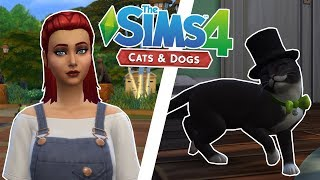 Someone Stole My Dog?! - Sims 4 100 Pet Challenge - Ep.1