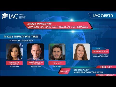 ISRAEL RUNDOWN שוב בחירות!