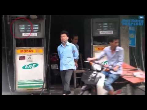 Clip Lật tẩy thủ đoạn ăn cắp mới của nhân viên cây xăng