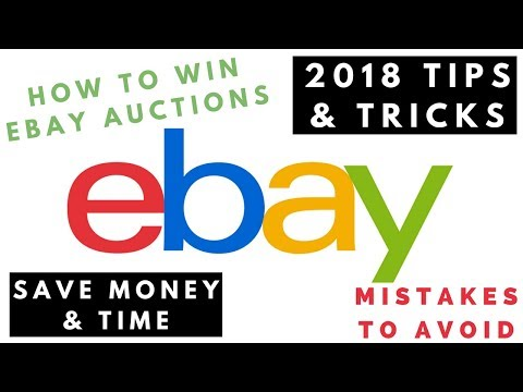 How To Win Ebay Auctions Ebay Tips Tricks 2019 How To Bid On Ebay Successfully How To Snipe Youtube