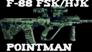 MoH: Warfighter  - FSK/HJK F88 Pointman Class Weapon Customization and Performance