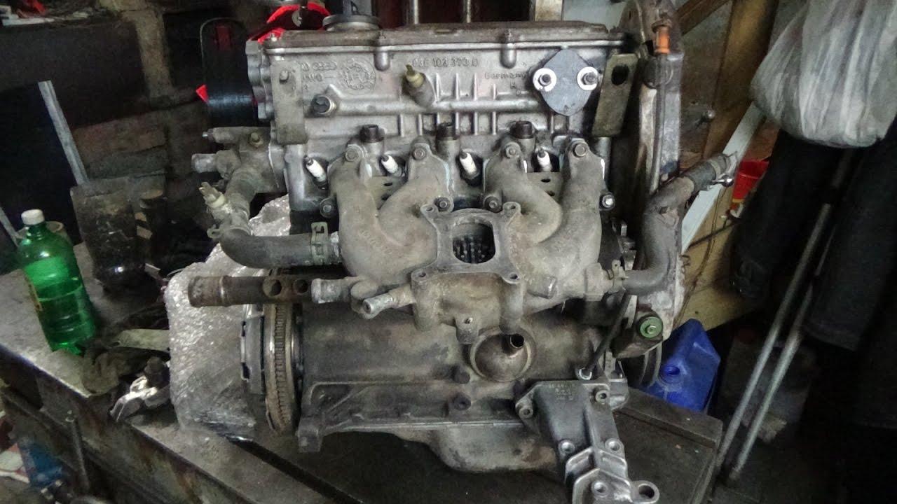 Сборка двигателя НК 1.3 Фольксваген Гольф 2,часть третья.