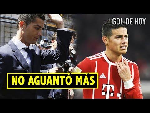"Grave lesión y James juega | Ronaldo explota por la prensa | ""Griezmann al Puskas"""
