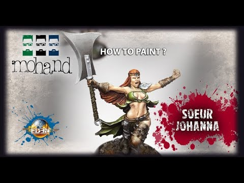 Comment Peindre : Soeur Johanna ( Eden the game par Happy Games Factory )