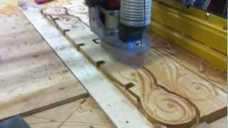 Cnc Cutting Cedar Tops Of Pergola For My Deck Patio