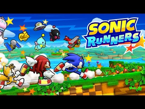 Sonic Runners - Классический аркадный раннер на Android