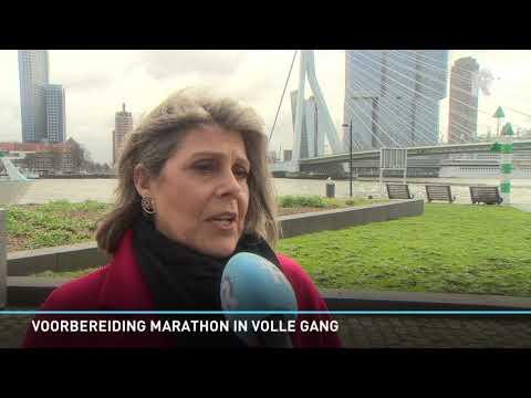 Binnenstad Rotterdam maakt zich klaar voor marathon
