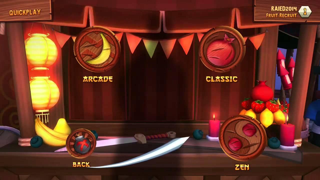 Ninja fruit 2 - Fruit Ninja Kinect 2
