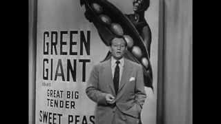 Art Linkletter for the Jolly Green Giant (early 1950s)