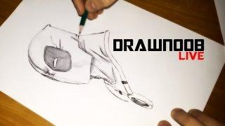 How to Draw [Deadpool] / Как нарисовать Дэдпула