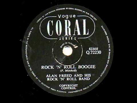 ROCK AND ROLL BOOGIEALAN FREED & FREDDIE MITCHELLwmv