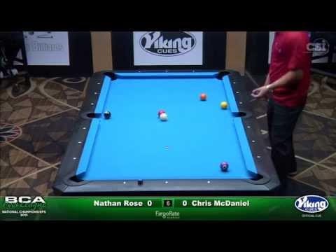 2015 Men's Advanced Singles: Chris McDaniel vs Nathan Rose (Hot Seat Match)