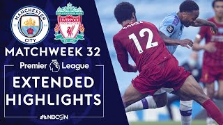 Manchester City v. Liverpool | PREMIER LEAGUE HIGHLIGHTS | 7/2/2020 | NBC Sports