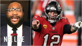 Nfl live's marcus spears, ryan clark and mina kimes discuss the recent struggles tampa bay buccaneers have had on offense, with spears only giving tom br...