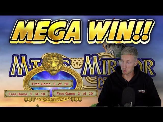 MEGA WIN! MAGIC MIRROR DELUXE 2 BIG WIN - Online Casino from Casinodaddys live stream