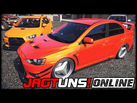 GTA 5 JAGT UNS! #56  ONLINE   Mitsubishi Lancer Evolution X  Deutsch  Grand Theft Auto