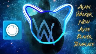 Alan Walker New Avee Player Template | Audio Visualiser Template | Free Download 2020