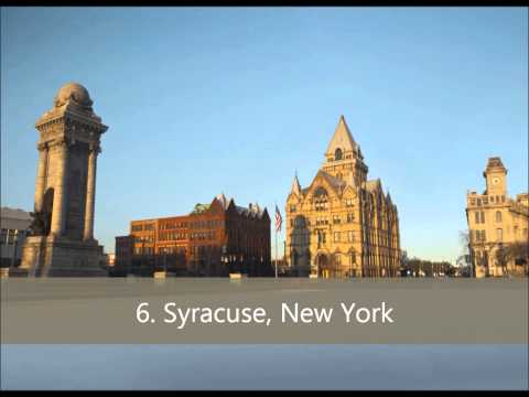 Top 10 Snowiest Cities In The United States