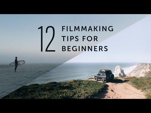 Filmmaking TIPS For Beginners