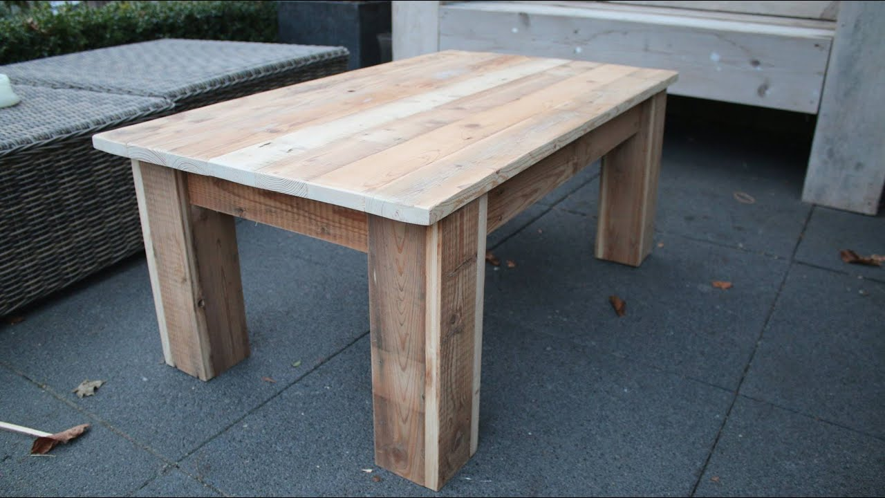 Diy Coffee Table Youtube