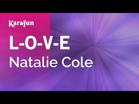 Karaoke L-O-V-E - Natalie Cole *