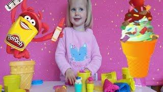 Плей До Магазин сладостей Play Doh Sweet Shoppe на русском языке(Пластилин Плей До, обзор набора