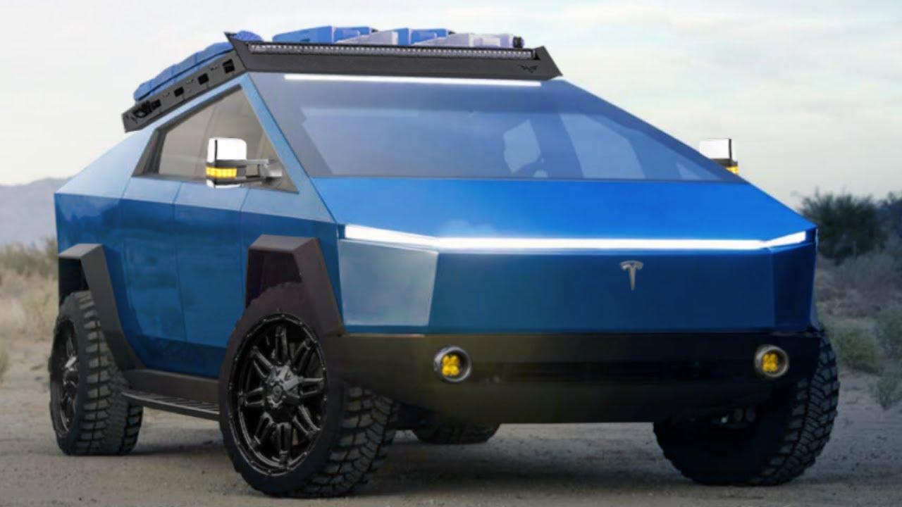 Tesla Cybertruck: The Ultimate Camper Car - YouTube
