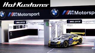 Tarmac Works PARTS64 BMW Motorsport Pit Garage Unboxing | Giveaway Details Announced!
