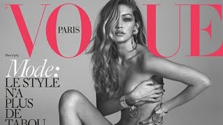 Gigi Hadid Naked On Vogue Paris Cover & Zayn Approves