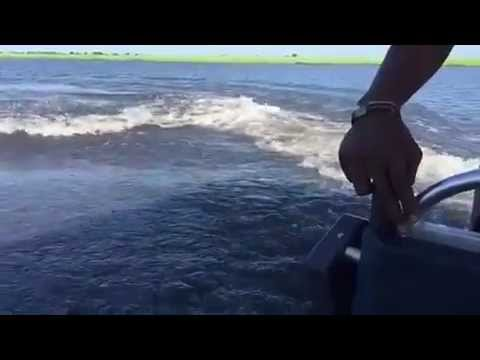 HIPPO ATTACK, FISHING IN ANGOLA SCARY WATCH THIS!!!!!!!