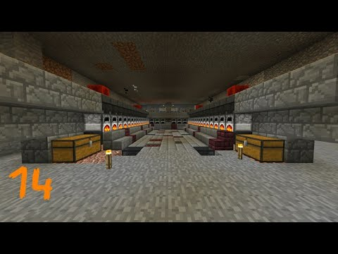 Minecraft bedrock let's play Episode: 14 The super smelter!!!