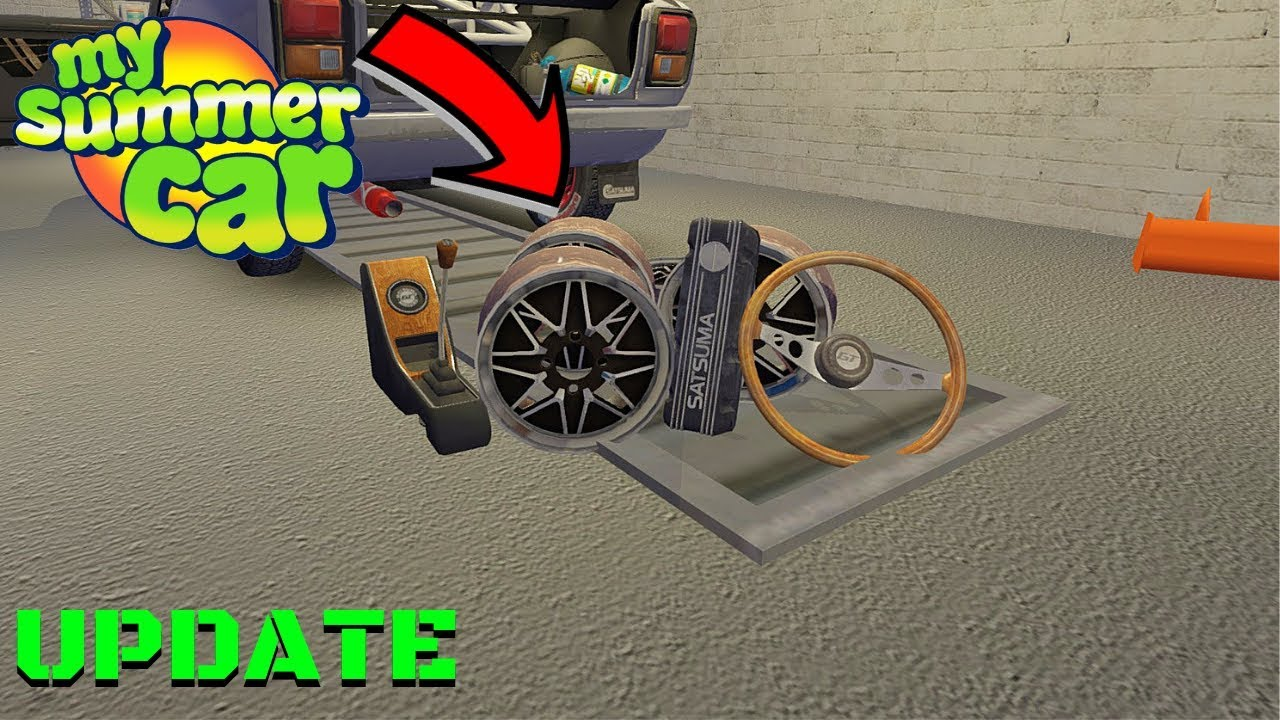 New Rims Gt Cover Center Console And Steering Wheel My Summer Car Update 13