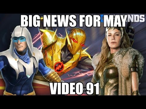 DC Legends Game Video 91 = Big Changes and Big News for May